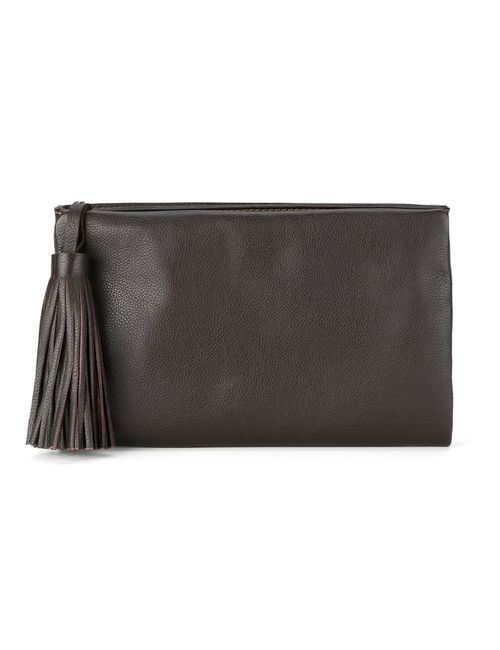 Sarah Chofakian | Черный Leather Clutch