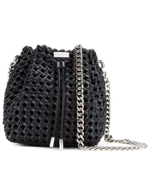 Stella Mccartney | Черный Weaved Bucket Bag