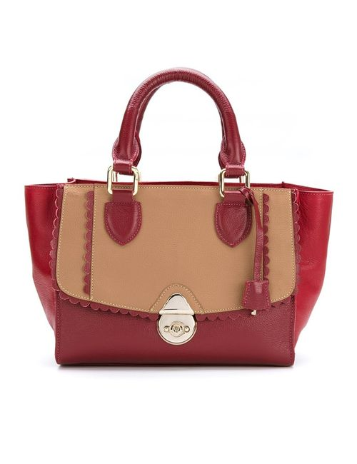 Sarah Chofakian | Красный Leather Bicolor Bag