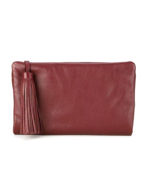 Sarah Chofakian | Красный Leather Clutch