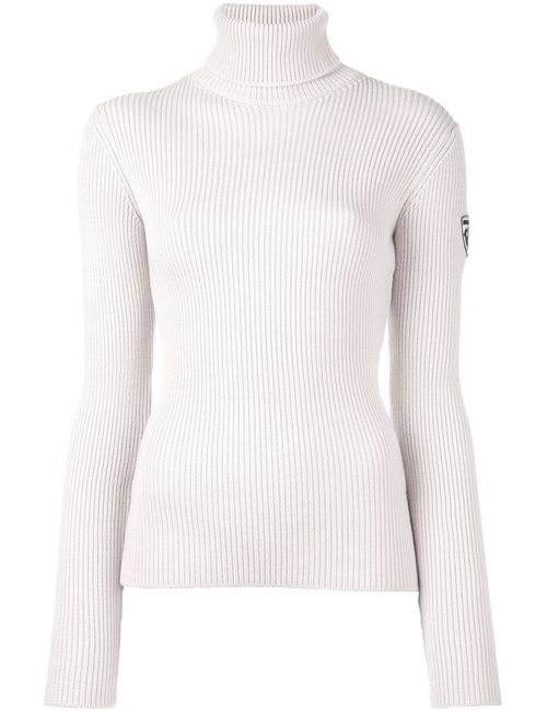ROSSIGNOL | Nude/Neutrals Adama Roll Neck Ribbed Top Medium Virgin