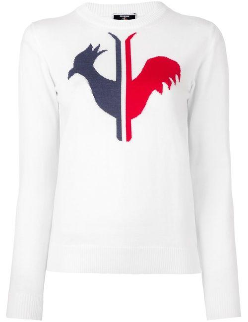 ROSSIGNOL | Белый W Alya Round Neck Sweater Small Wool
