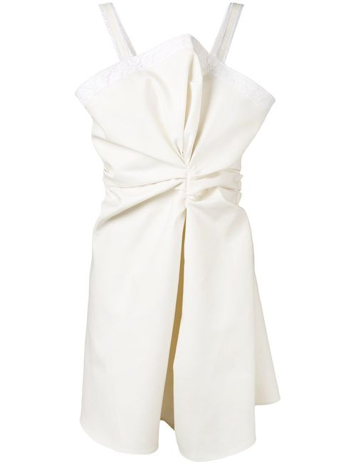 JACQUEMUS | Женское Nude/Neutrals Knotted Mini Dress 38
