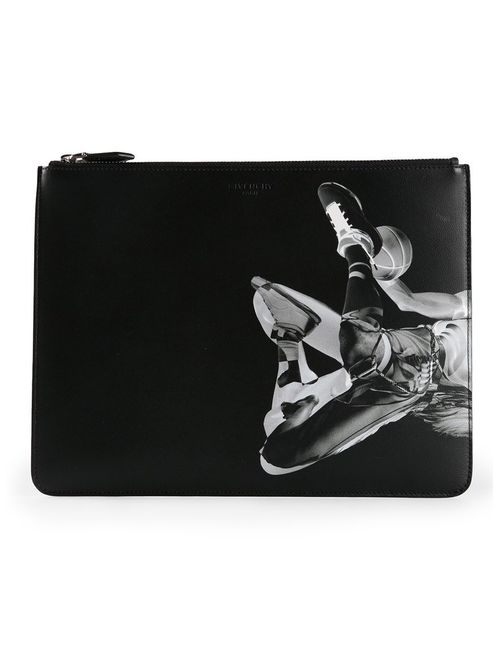 Givenchy | Мужское Черный Basketball Print Wallet