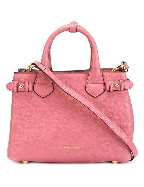 Burberry | Женская Розовая Маленькая Сумка-Тоут Banner