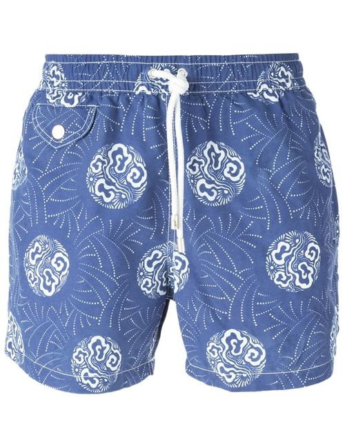 Hartford | Мужское Синий Printed Swim Shorts From