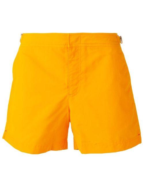 Orlebar Brown | Мужские Жёлтые Шорты Для Плавания Setter