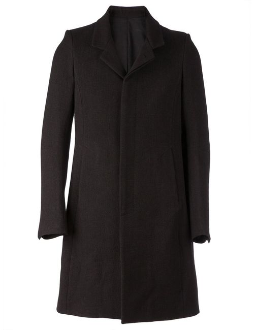 Poème Bohèmien | Мужское Чёрное Классическое Пальто