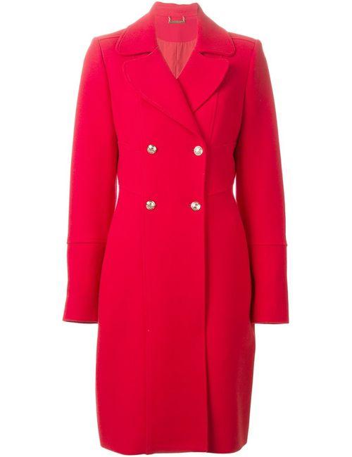 Diane Von Furstenberg | Женское Красное Двубортное Пальто