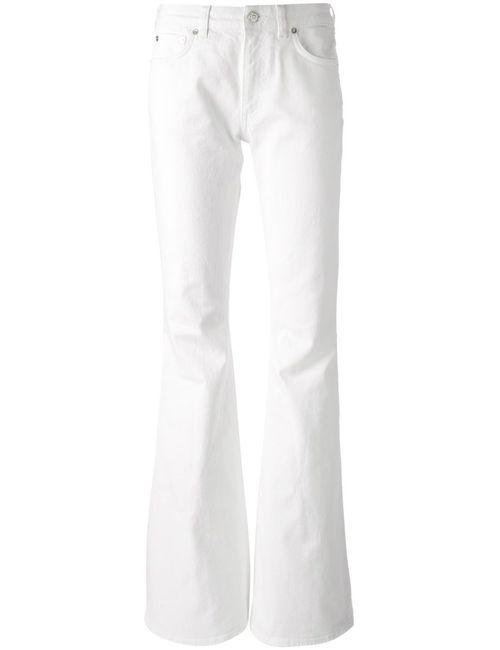 Acne | Женские Белые Расклешенные Джинсы Mello
