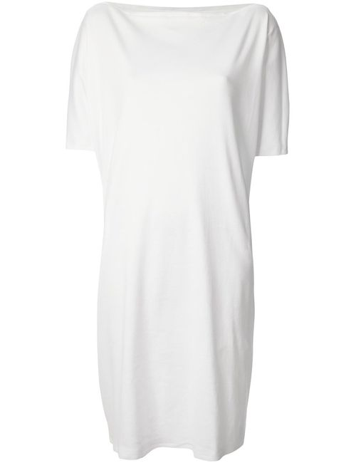 DANIELA GREGIS   Женское Белый Oversized T-Shirt Dress
