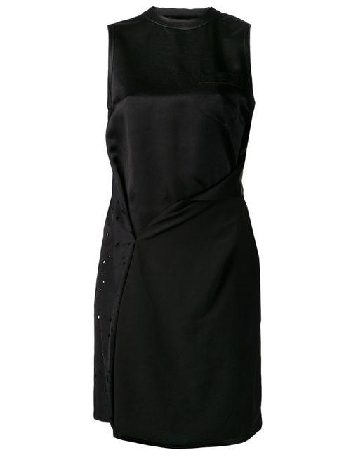 Alexander Wang | Женское Чёрное Платье С Отделкой По Спине