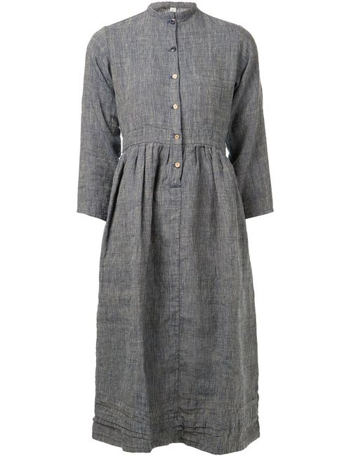 Visvim | Женское Navy Linen Holmes Dress From Featuring A