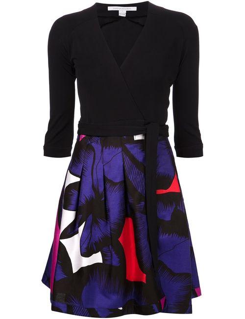 Diane Von Furstenberg | Женское And Poppy Cotton-Silk Blend Jewel Dress From