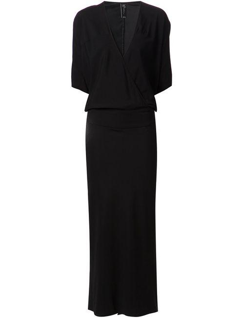 Zero + Maria Cornejo | Женское Чёрный Stretch Silk Manta Dress From