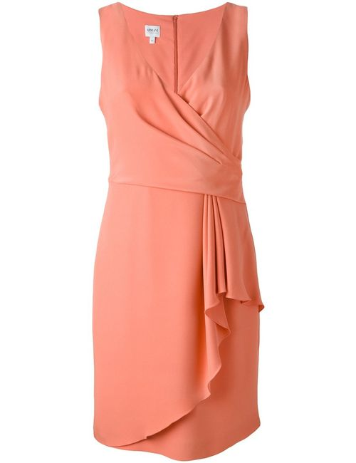 Armani Collezioni | Женское Silk Blend Ruffle Detail Dress From