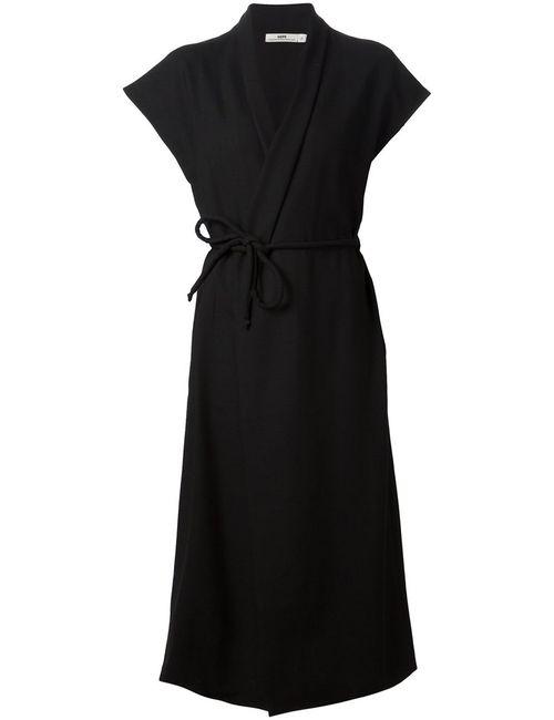 Hope | Женское Чёрный Cotton Wrap Dress From