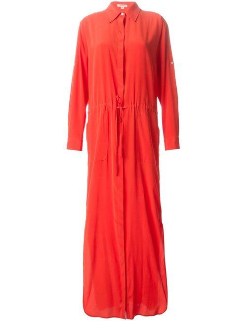 P.A.R.O.S.H. | Женское Silk Blend Syrene Shirt Dress From P