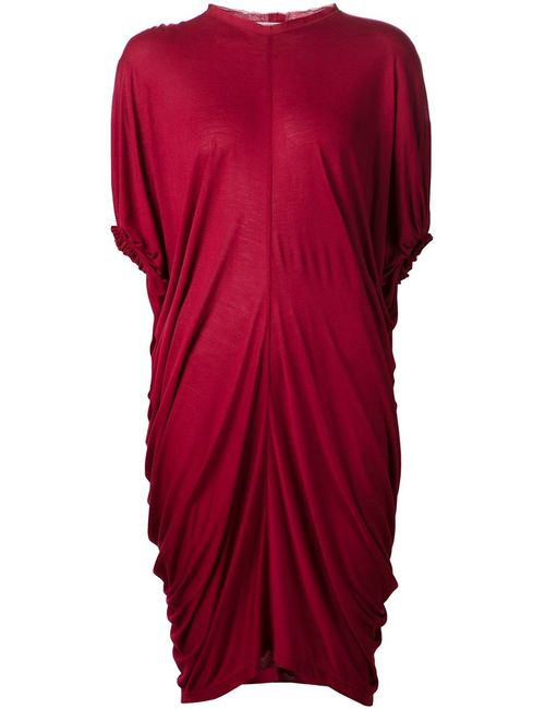 Lanvin | Женское Draped Dress From Featuring A Round Neck