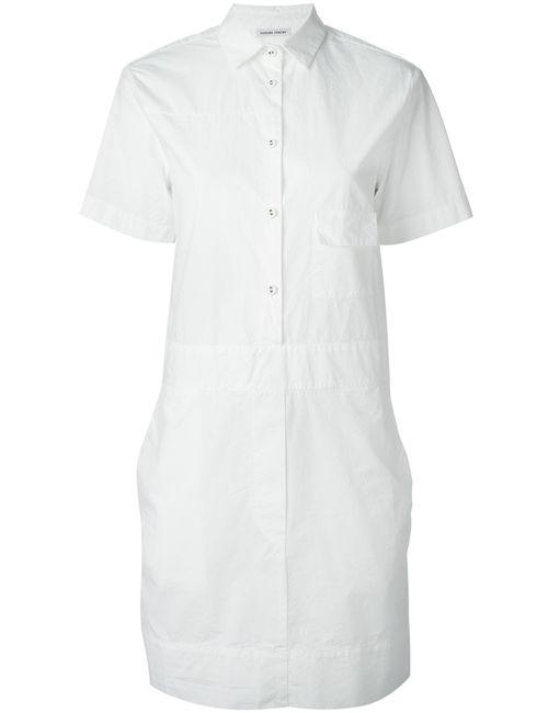 Tomas Maier | Женское Cotton Shortsleeved Shirt Dress From