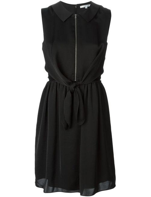 Carven | Женское Чёрный Tie Detail Collared Dress From