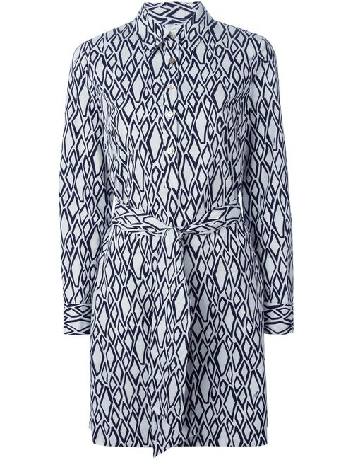 Diane Von Furstenberg | Женское And Cotton Taffy Dress From