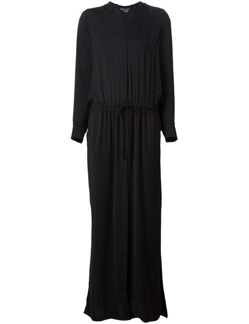 Vince | Женское Чёрный Maxi Shirt Dress From