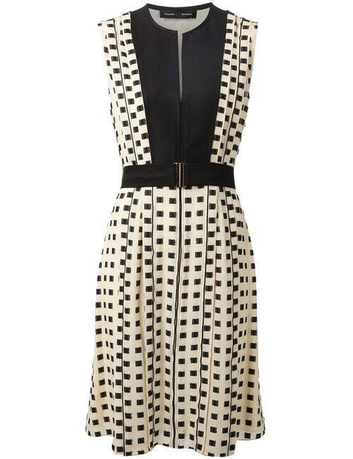 Proenza Schouler | Женское Ecru And Silk Blend Woven Dress From