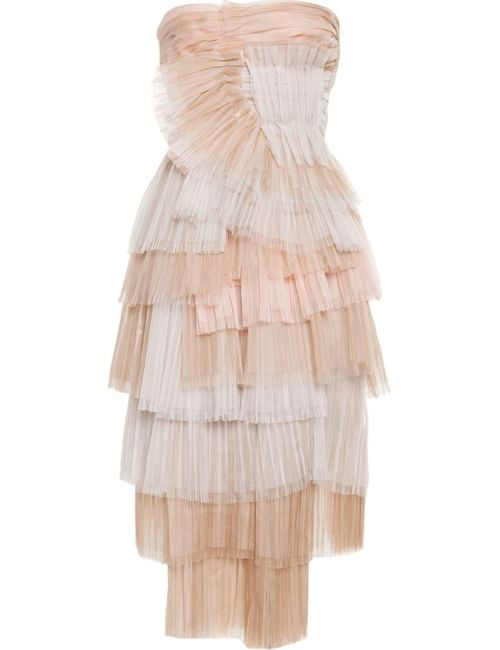 Burberry Prorsum | Женское Crafted In Italy From Pleated Silk Tulle