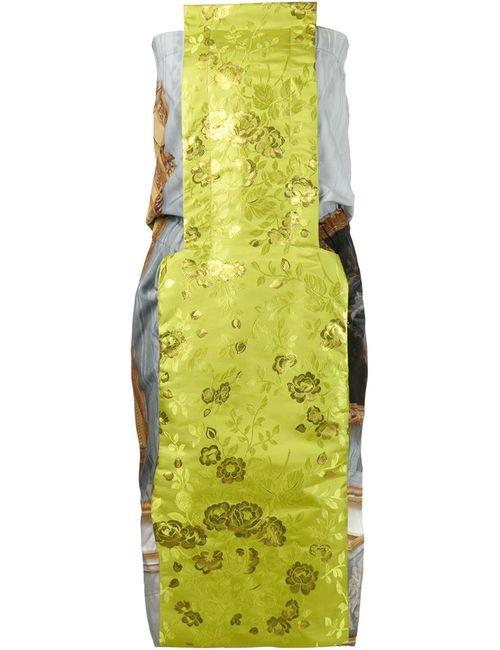 Vivienne Westwood | Женское Зелёное Платье С Цветочным Принтом Box