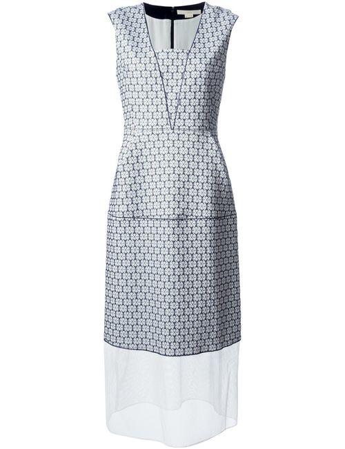 O'2ND   Женское Белое Платье Granada С Узором