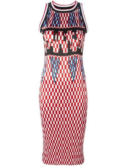 Alexander Wang | Женское Piped Dress From Featuring A Sleeveless Design