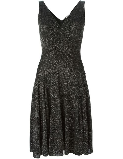 Armani Collezioni | Женское Glitter V-Neck Dress From