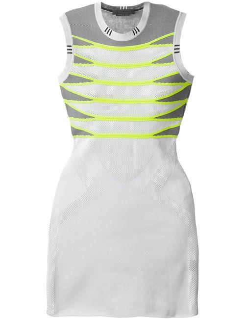 Alexander Wang | Женское Серый Striped Mesh Dress