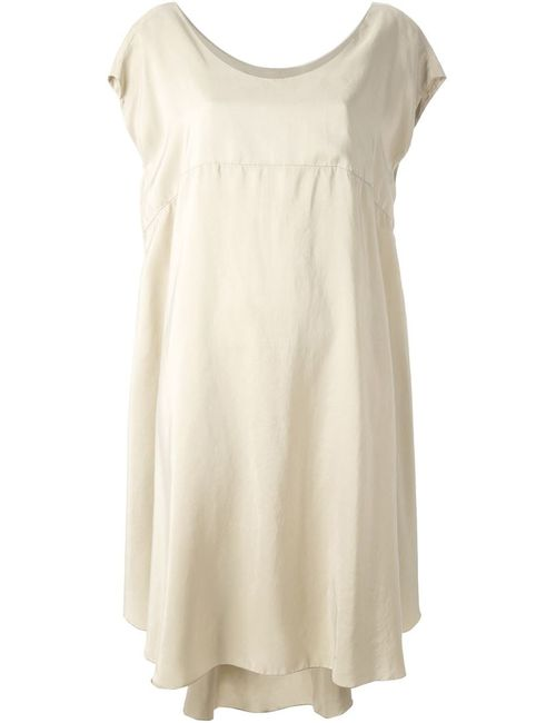 Hache   Женское Nude & Neutrals Silk Loose Fit Dress From