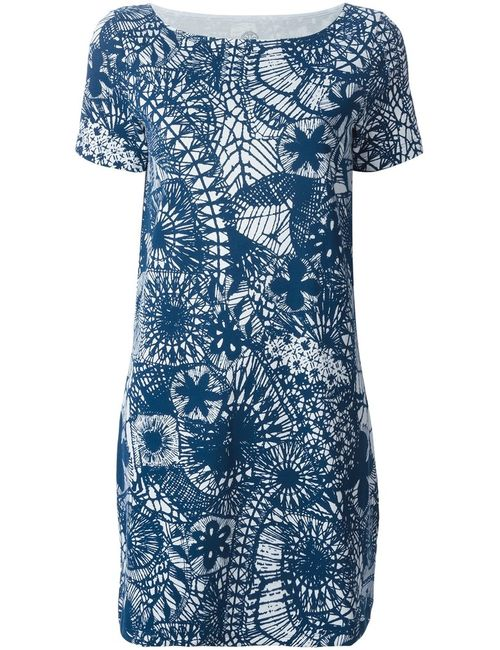 Tory Burch | Женское And Cotton Printed T-Shirt Dress From