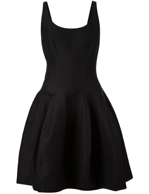 Halston Heritage | Женское Cotton Blend Sleeveless Flared Dress From