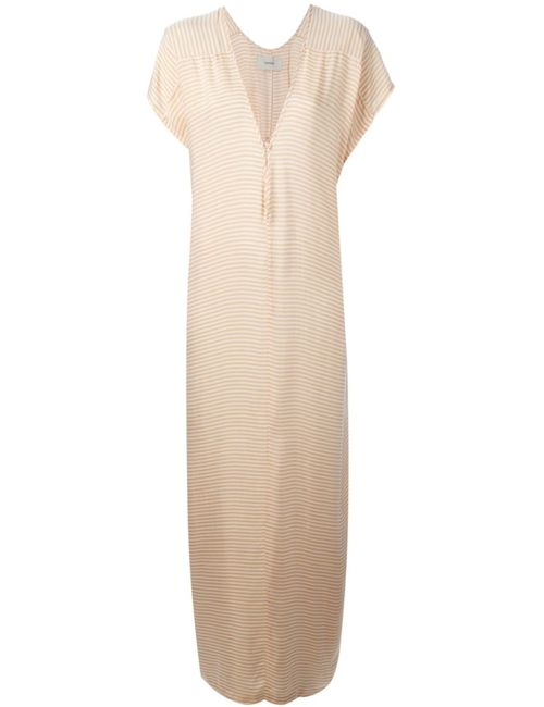 Humanoid | Женское Oyster-Coloured And Brand Kaftan Dress From