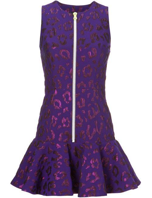 House Of Holland | Женское Leopard Pattern Peplum Dress From