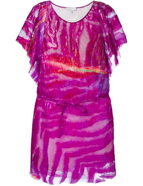 Iro | Женское Розовое Платье С Поясом