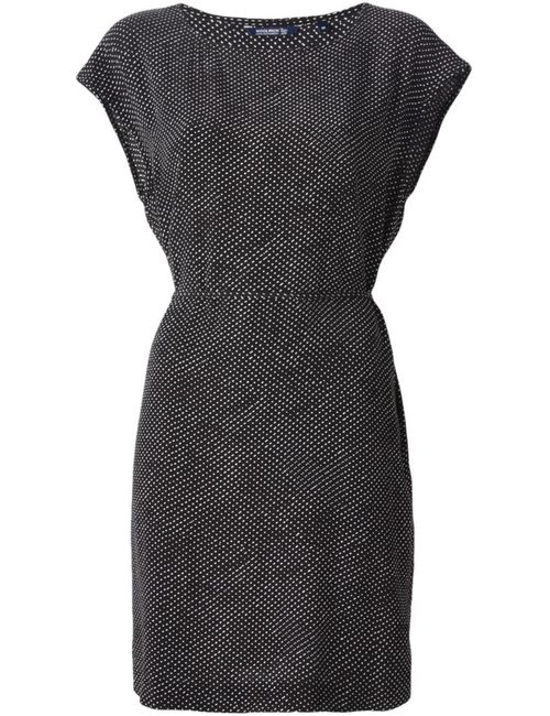 Woolrich | Женское Чёрный And Micro Dot Pattern Dress From