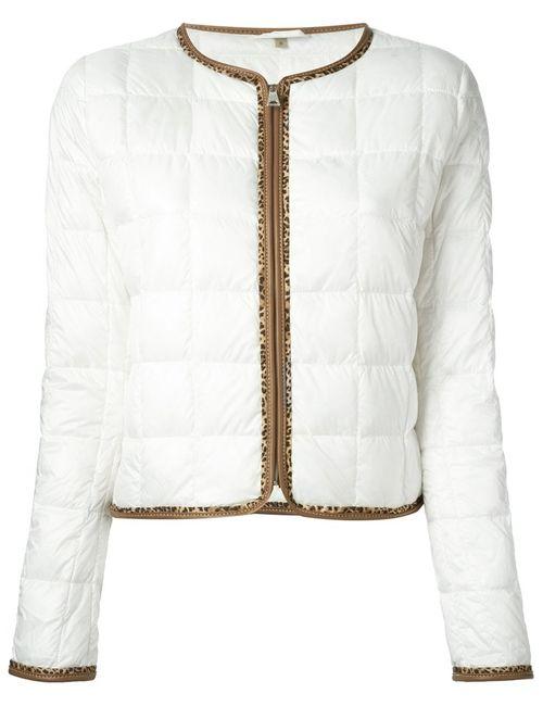 Fay   Женская Белая Стёганая Куртка
