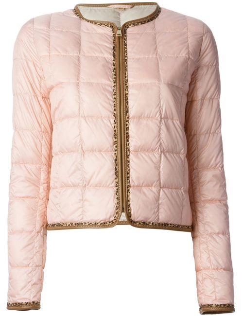 Fay | Женская Розовая Дутая Куртка