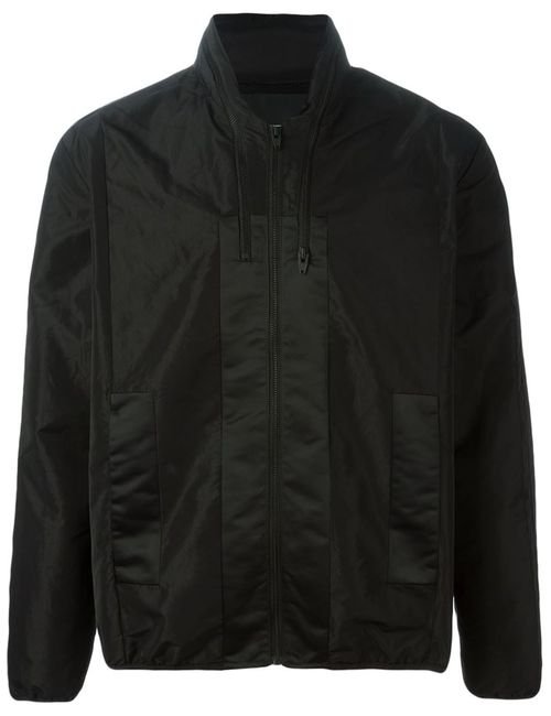 T By Alexander Wang | Мужская Черный Спортивная Куртка С Панельным Дизайном