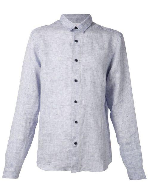 Orlebar Brown | Мужская Синяя Рубашка Morton