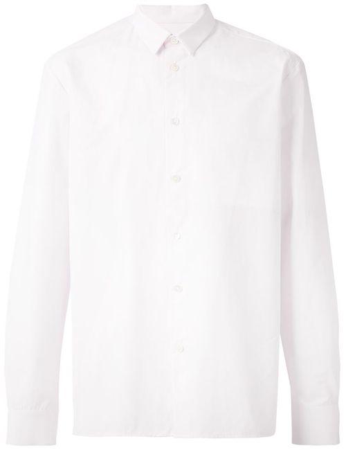 Stephan Schneider | Мужская Розовая Классическая Рубашка