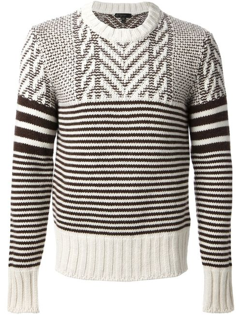 Belstaff | Мужское Белый And Wool Maxford Jumper From Featuring A