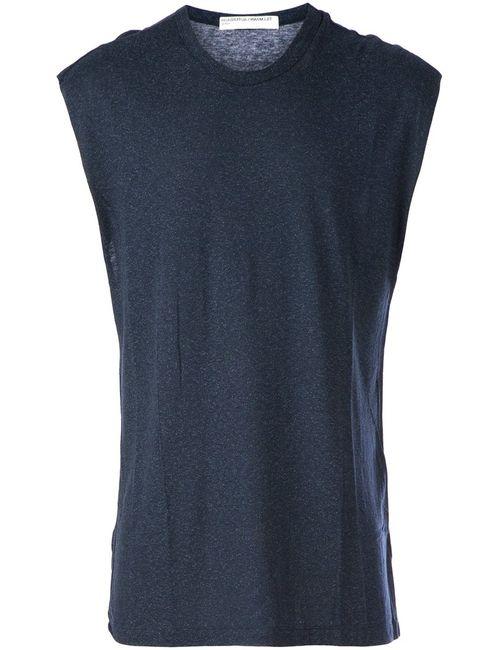 TILLMANN LAUTERBACH | Мужское Wool And Silk Blend Loose Vest Top
