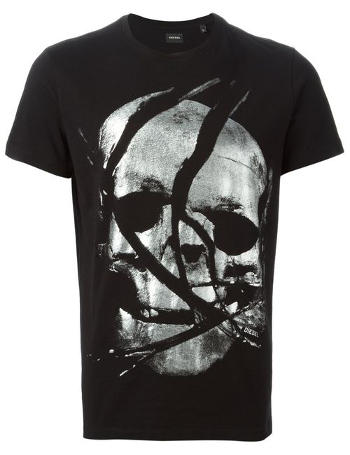 Diesel | Мужское And Tone Cotton T-Gaho T-Shirt From