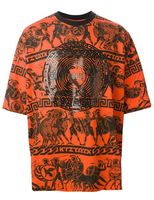 Ktz | Мужское And Cotton War Print T-Shirt From